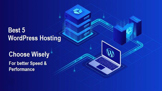 Best 5 Wordpress Hosting 2020