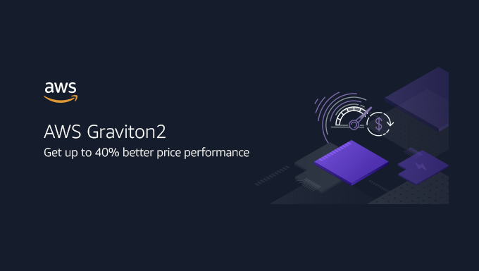 Get up to 40% better price performance with AWS Graviton2